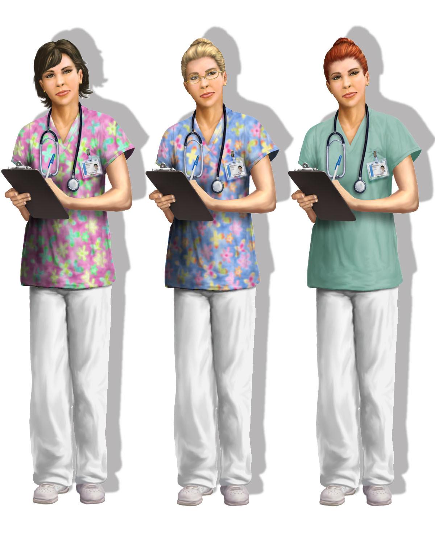 Jeff zugale nurse concept variants 1
