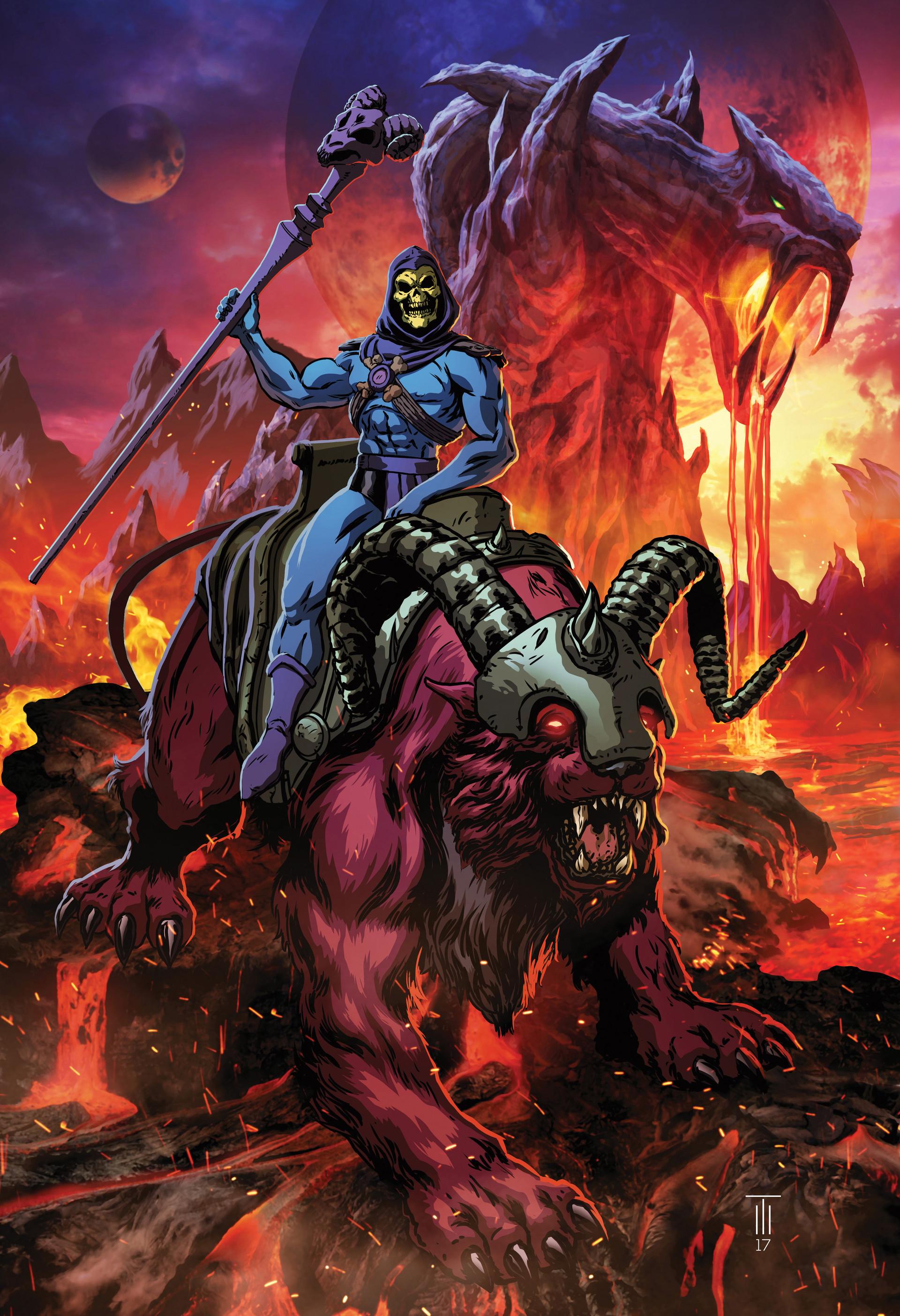 Skeletor and Panthor
