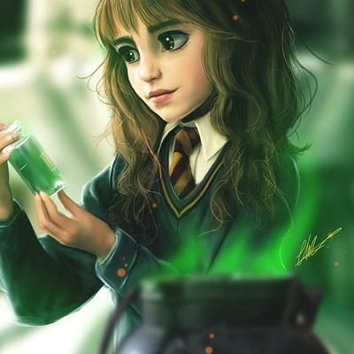 Charlotte lebreton hermione