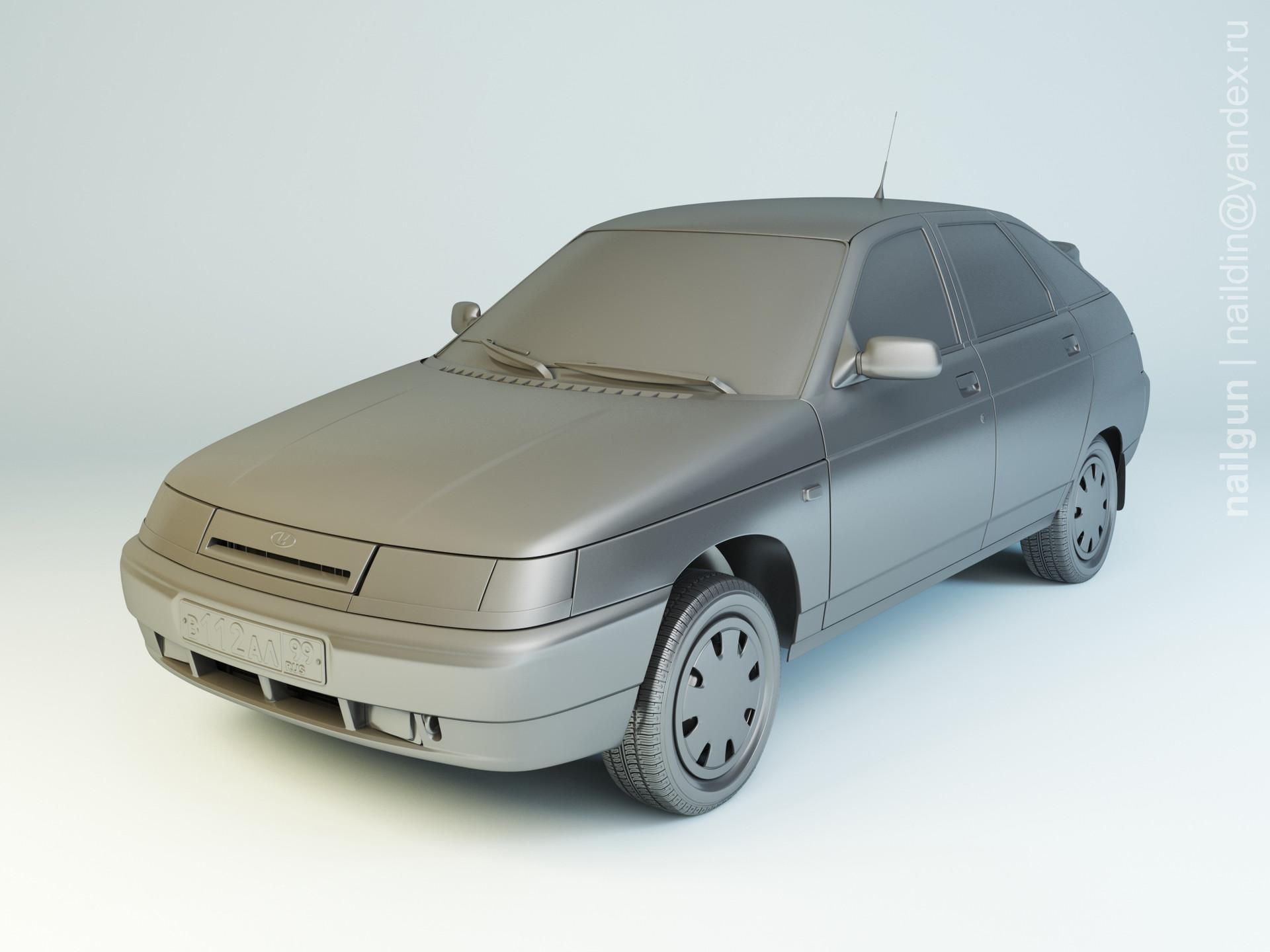 Nail khusnutdinov als 182 005 vaz 2112 modelling 0