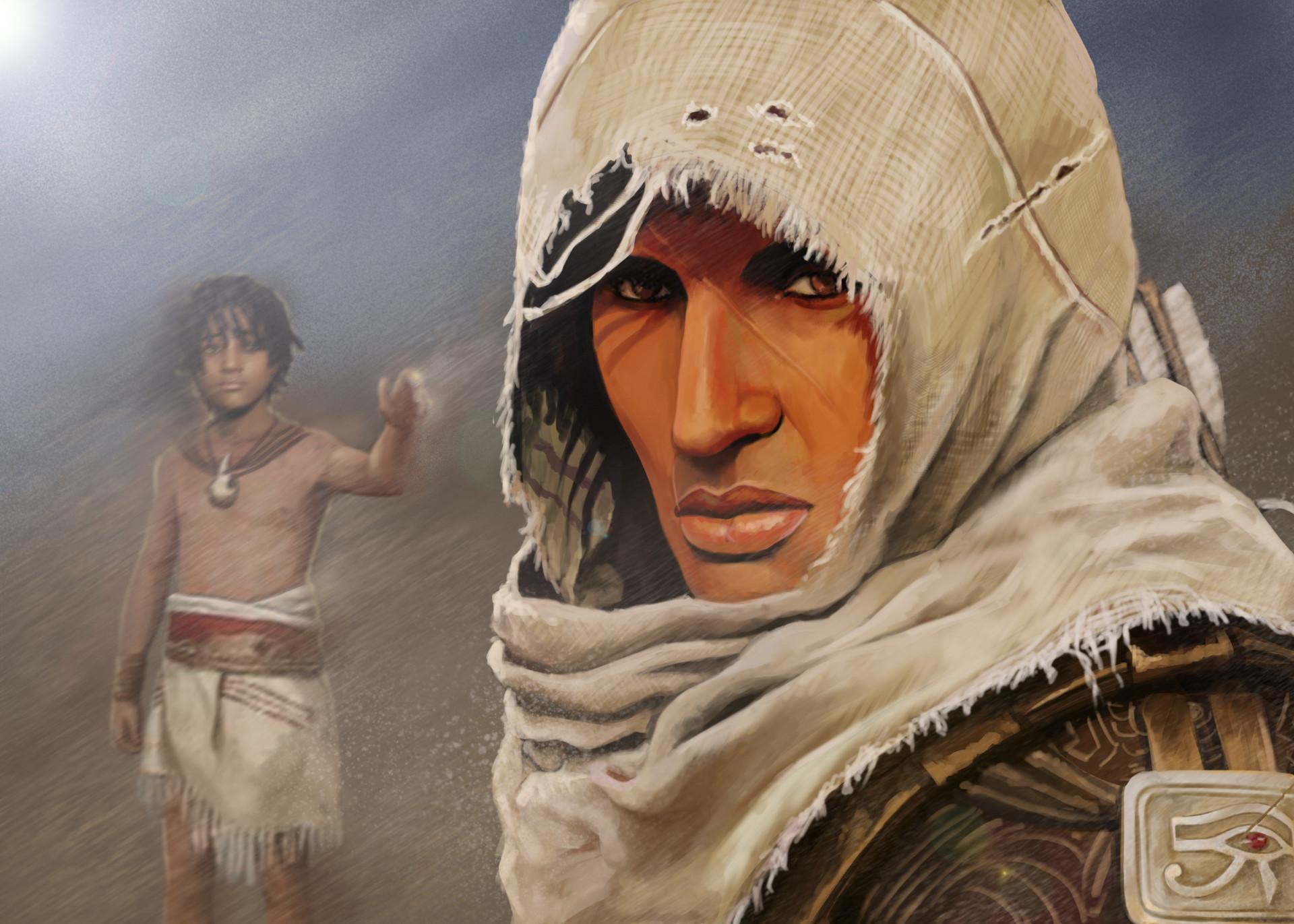 Dmitriy Soloviov Assassin S Creed Origins Fan Art