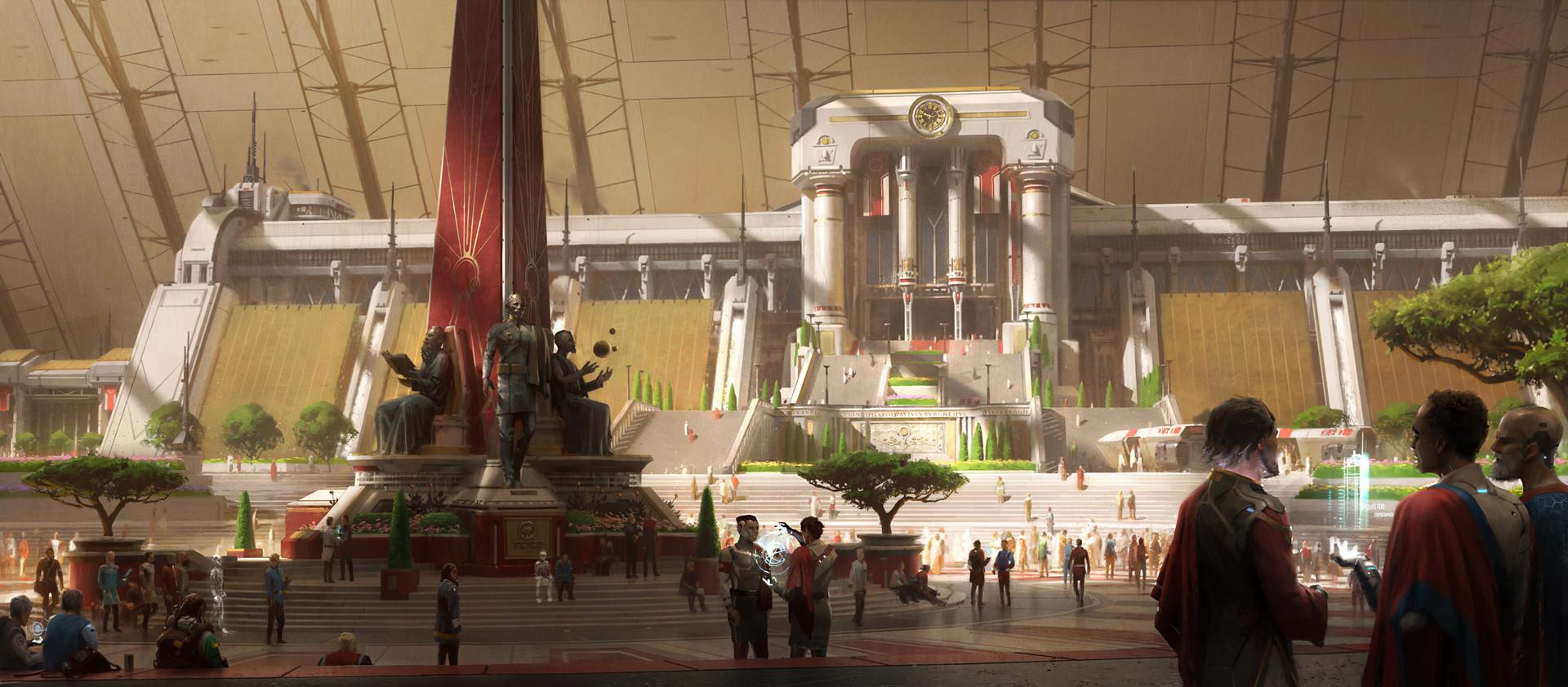 ArtStation - Citadel of Nilos, Sean Vo