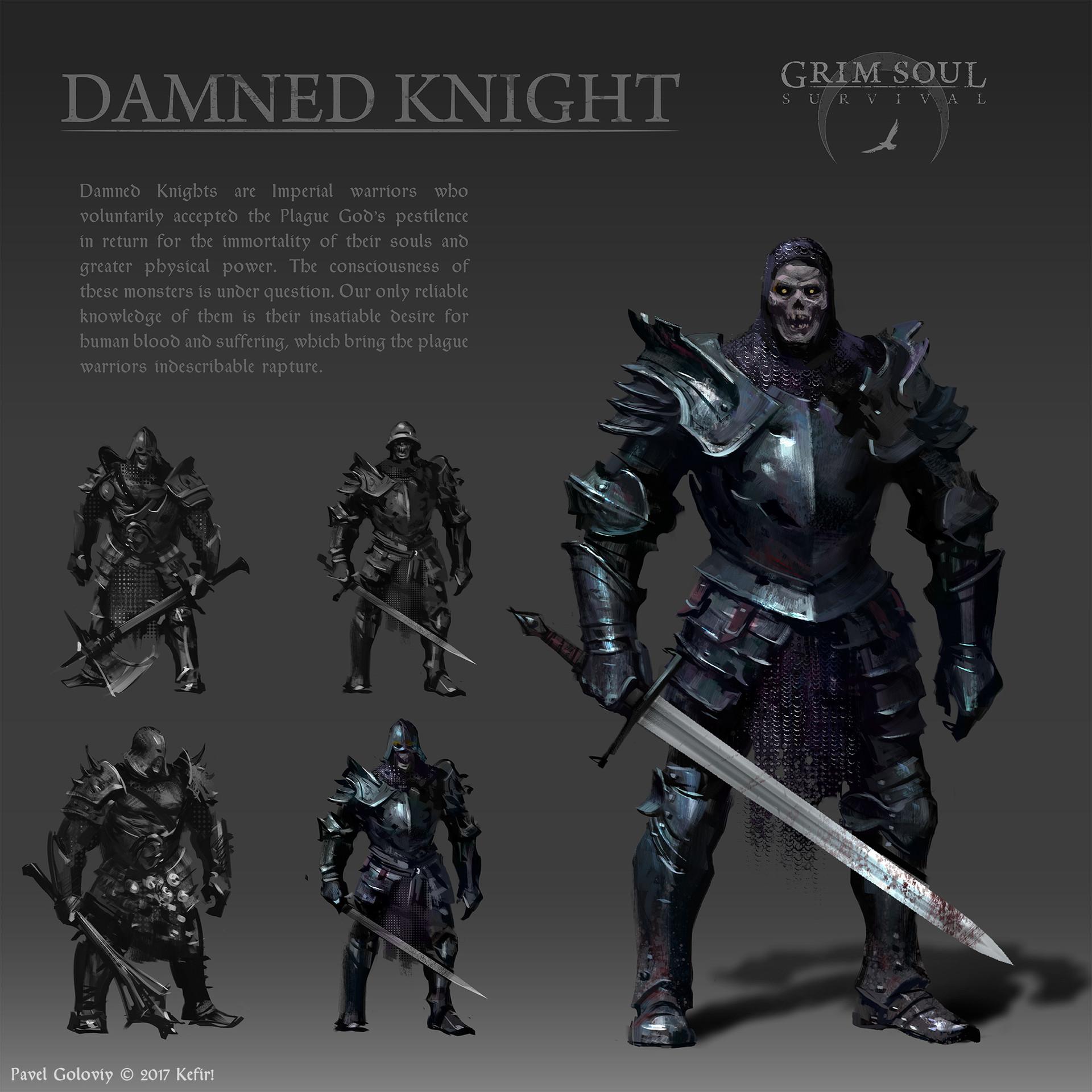 Pavel goloviy damned knight presentation