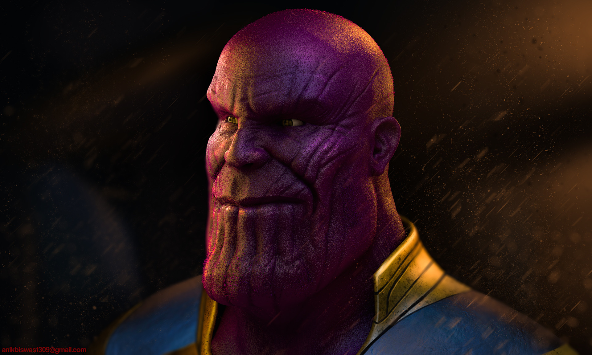 Anik biswas thanos up