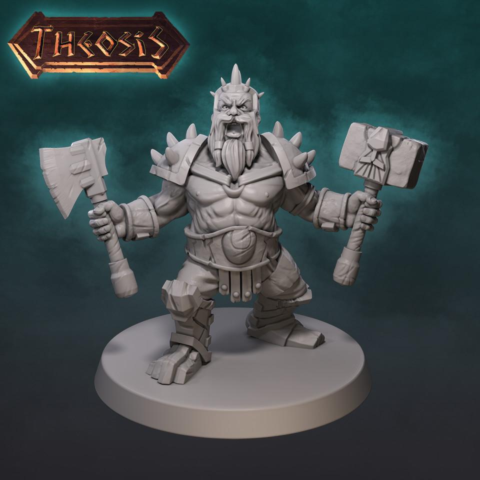 Dwarf Berserker - Theosis
