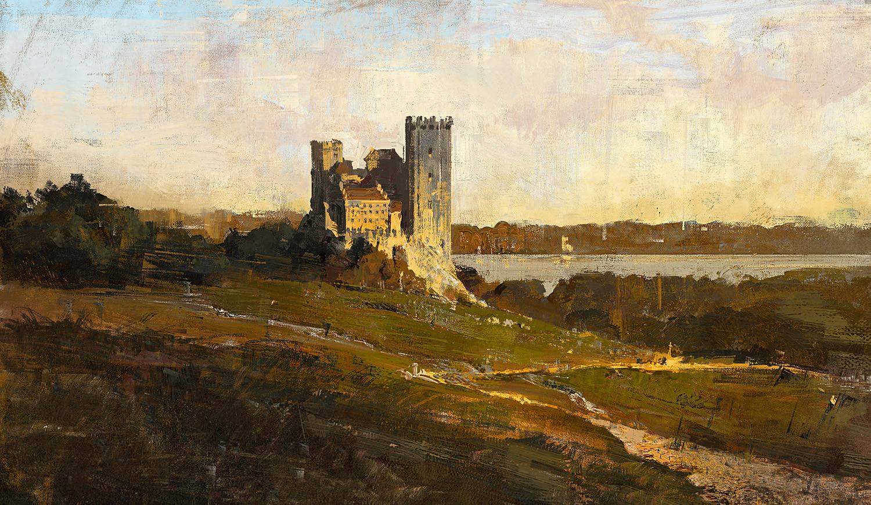 Greg rutkowski castle 1 study 1500