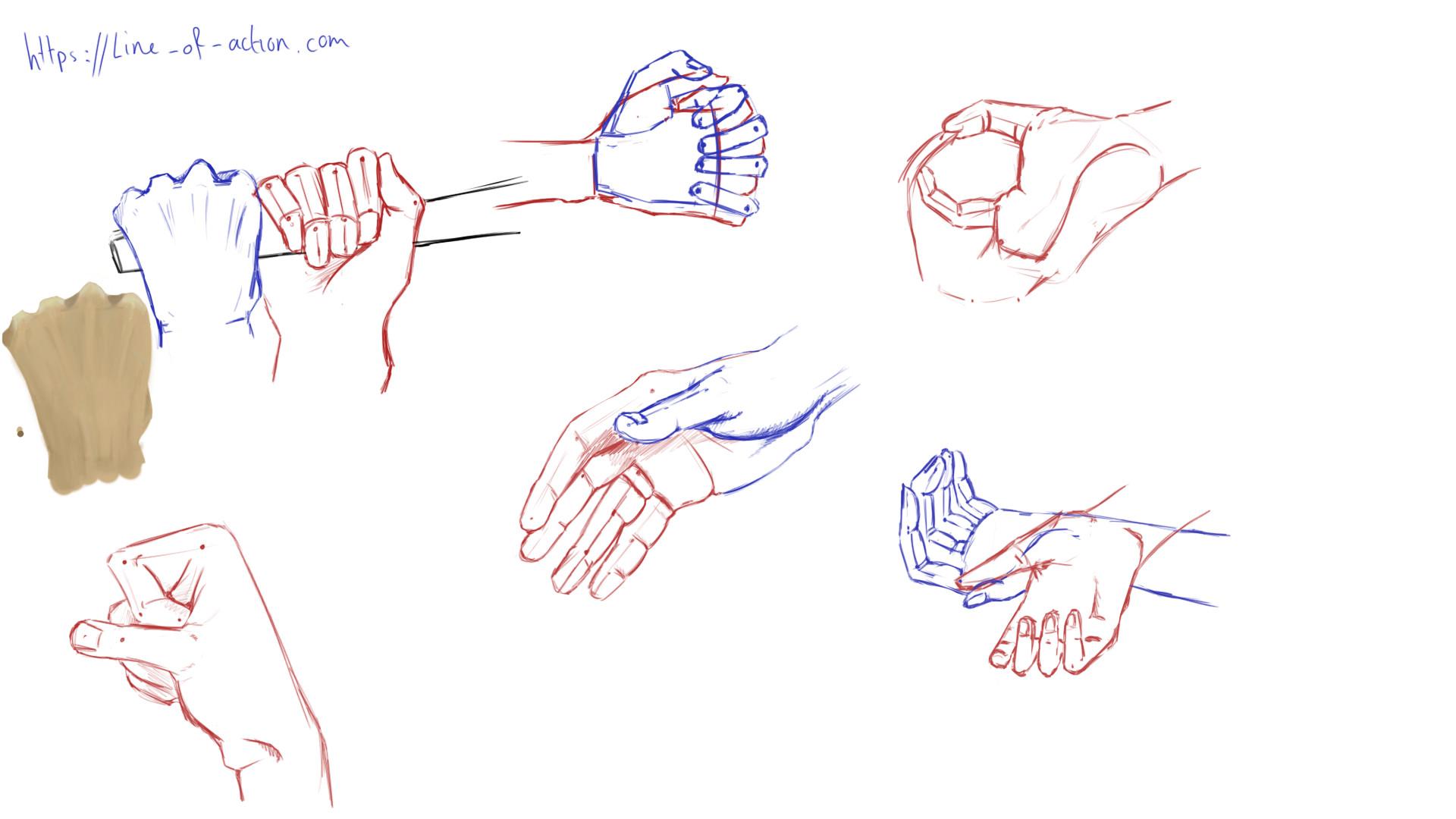 anne teunissen drawing hands practice