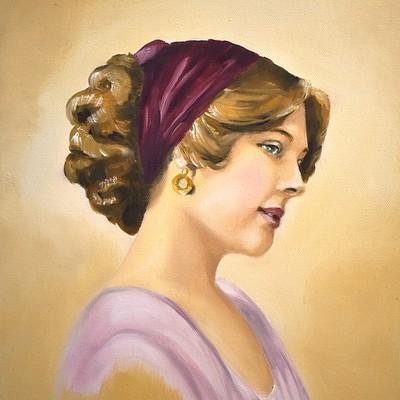 Vintage Portrait 2