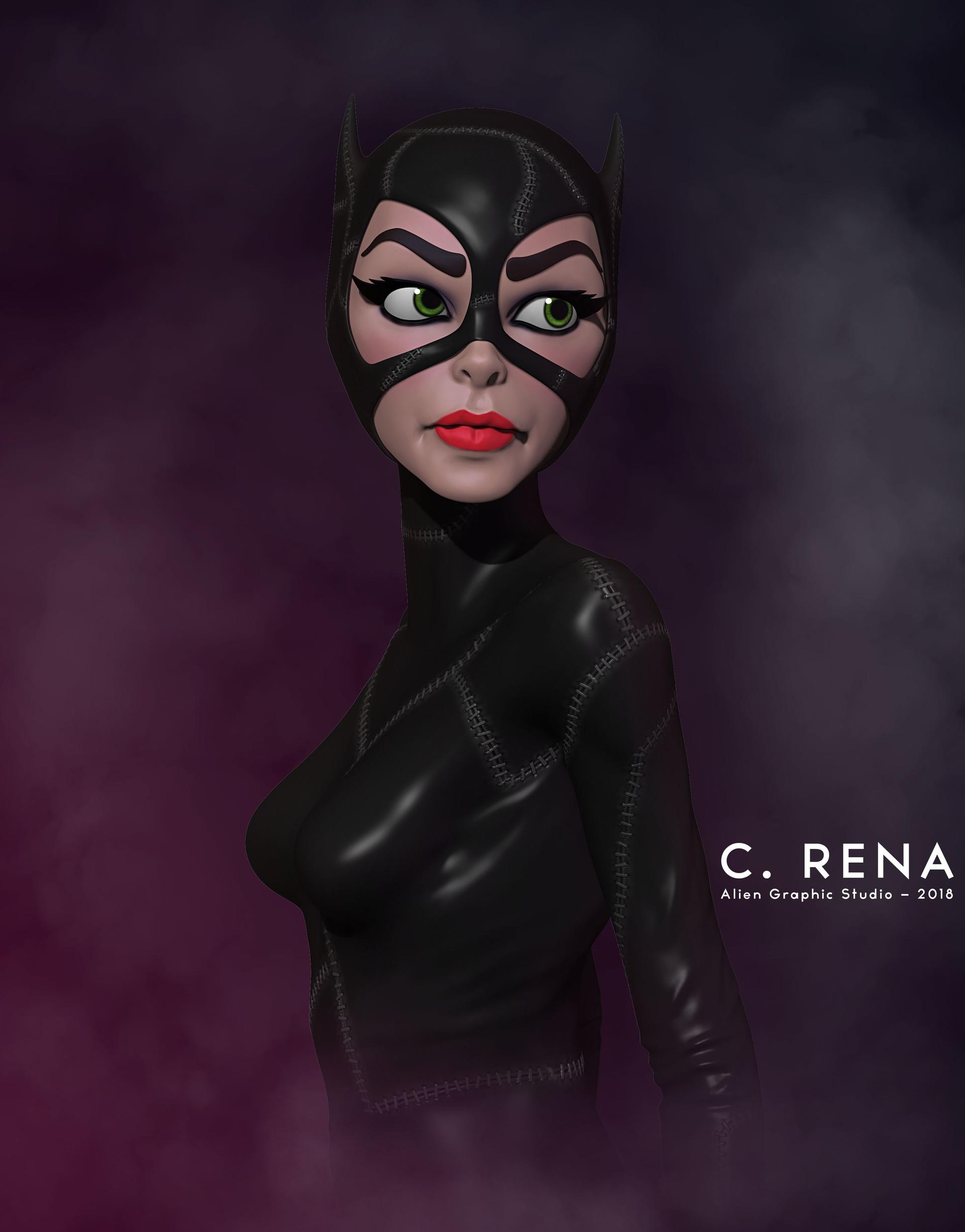 Catwoman illustration