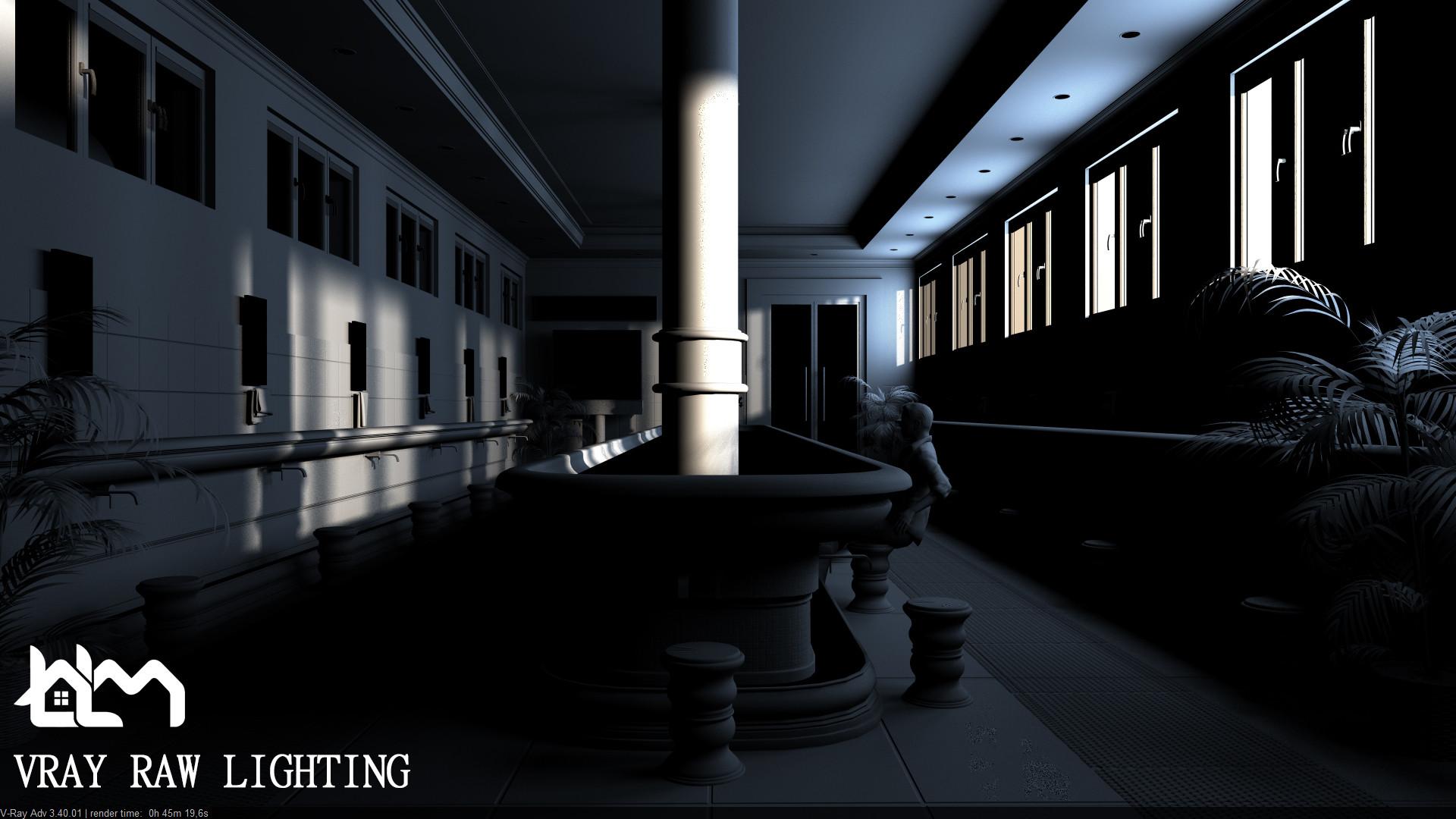 ArtStation - Interior Scene , Mohamed Lamine Boualita