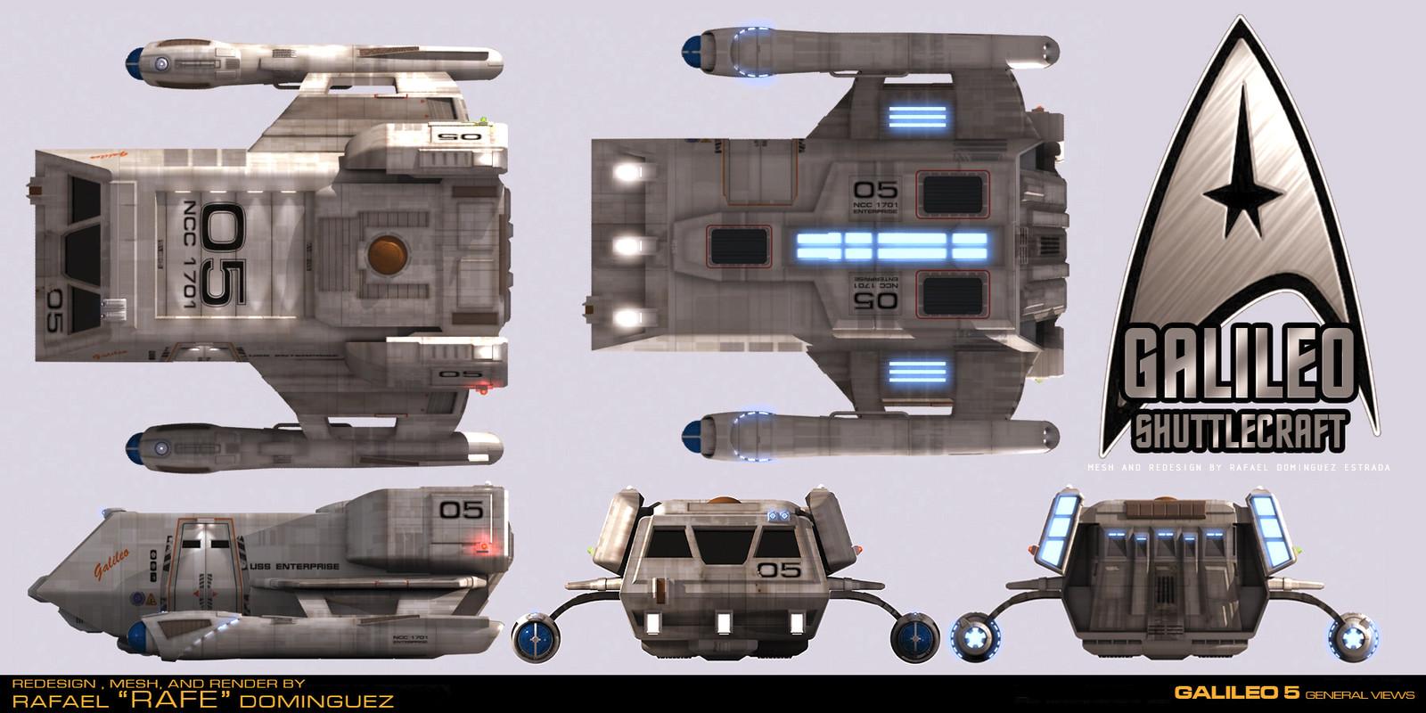 Galileo 5 Redesign by RAFE