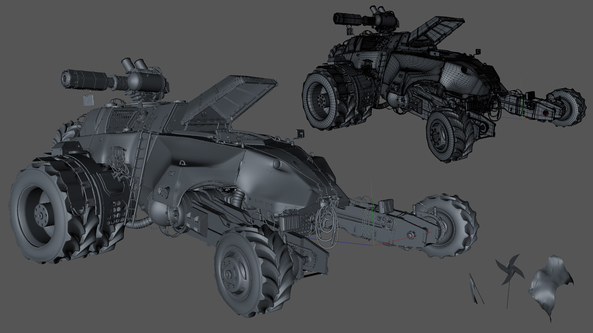 Tamas gyerman h01 modeling