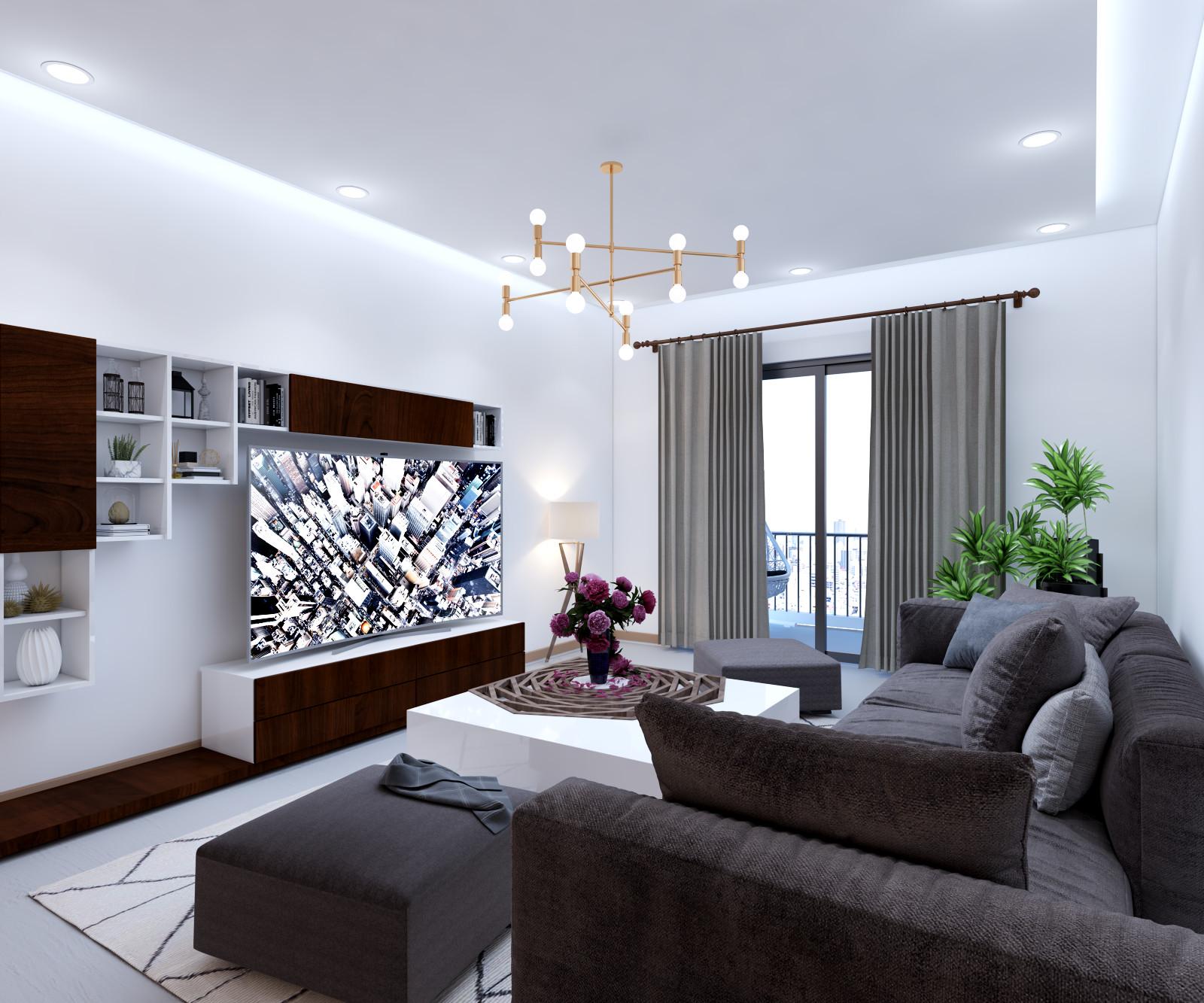 Shivkant Baghel Paras Irene 4bhk Flat 3d Interior Design In Gurgaon