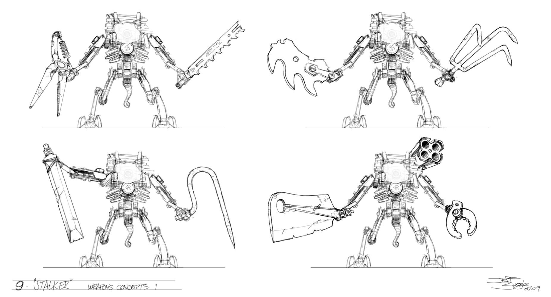 Jeff zugale stalker weapons 1