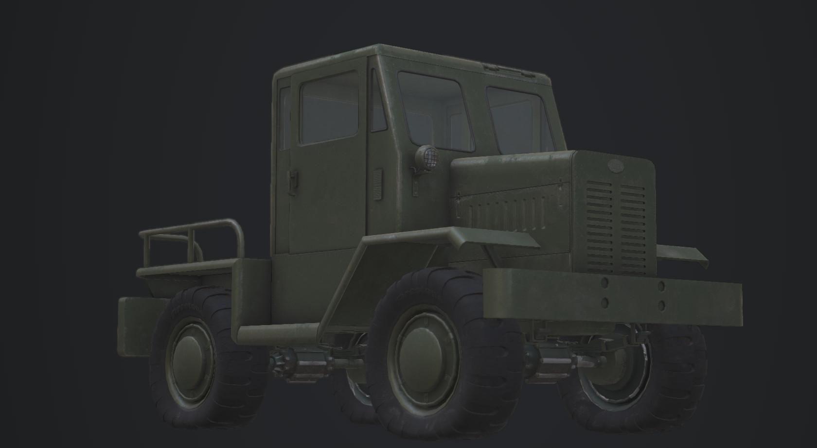 Truck tug test