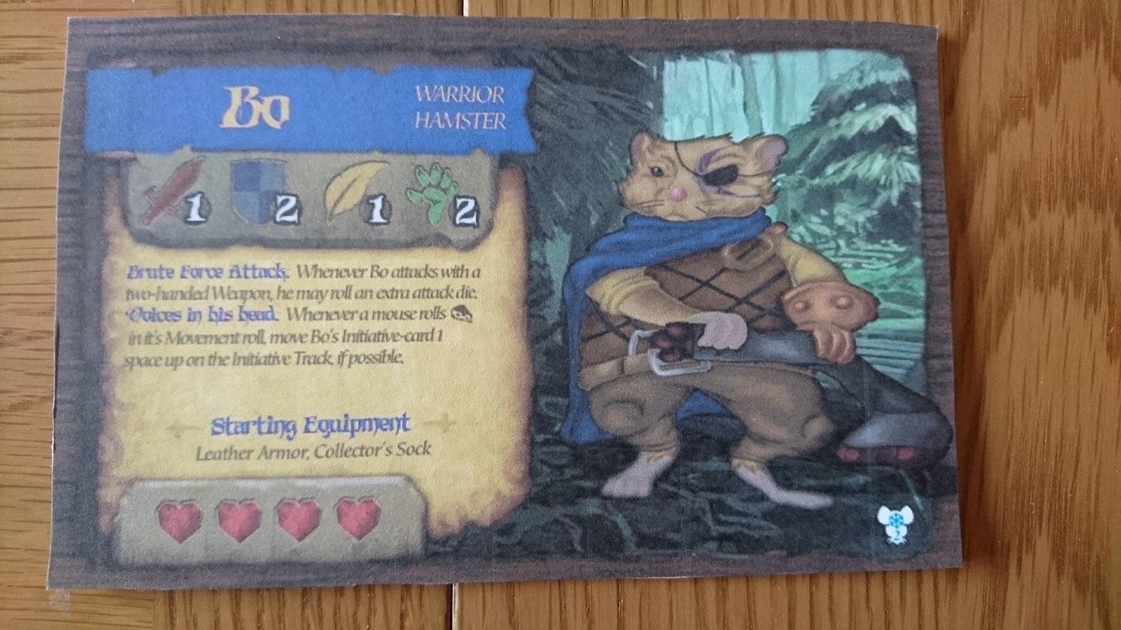 Bo Final Card Front