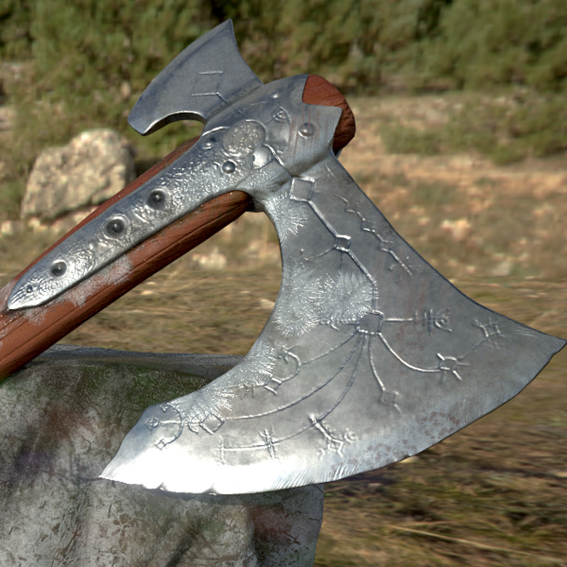 GOW Fan Axe