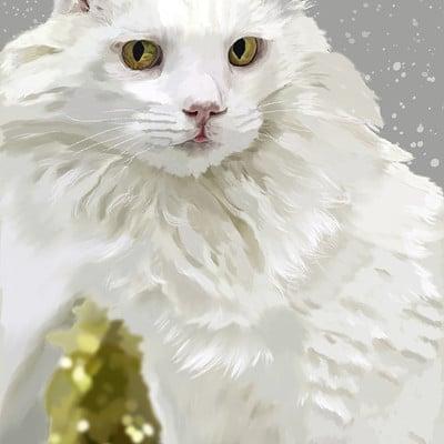 Andre smith snowy cat low rez