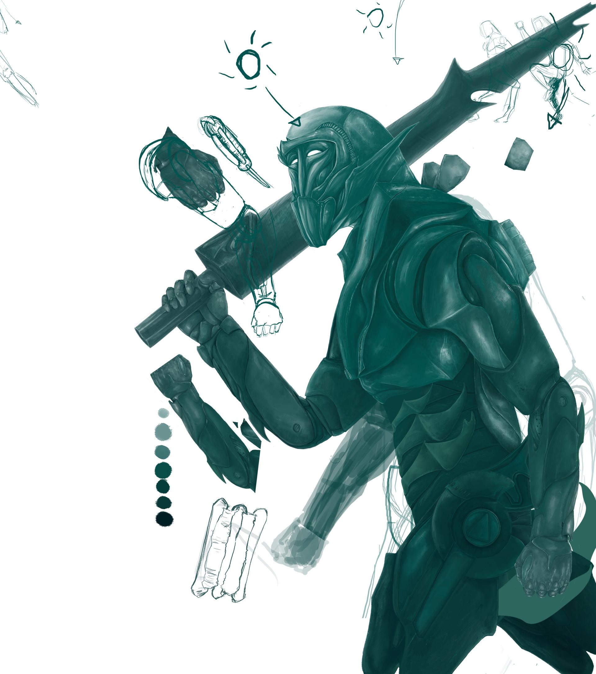 Italo gaspar esboco de robo esmeralda 1