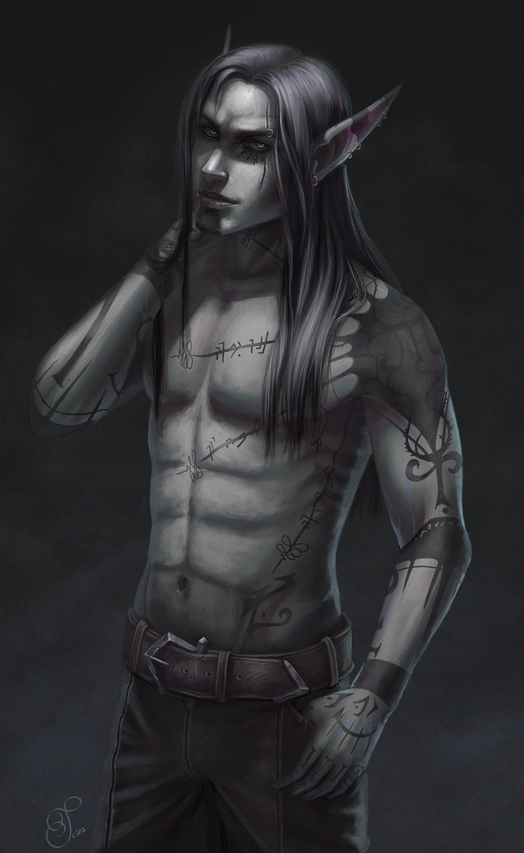 Tess eisinger jericho waistup tattoos