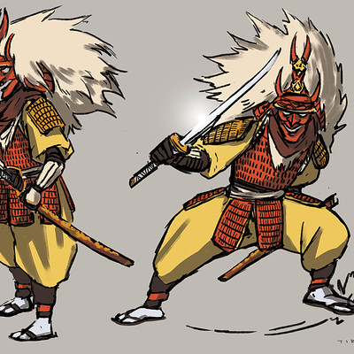 Sandra tirado mestre samurai rojo