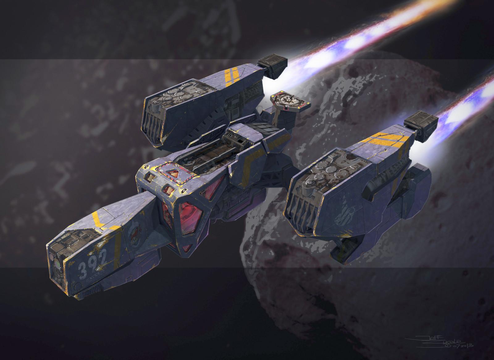 Project EX: Spaceship Designs