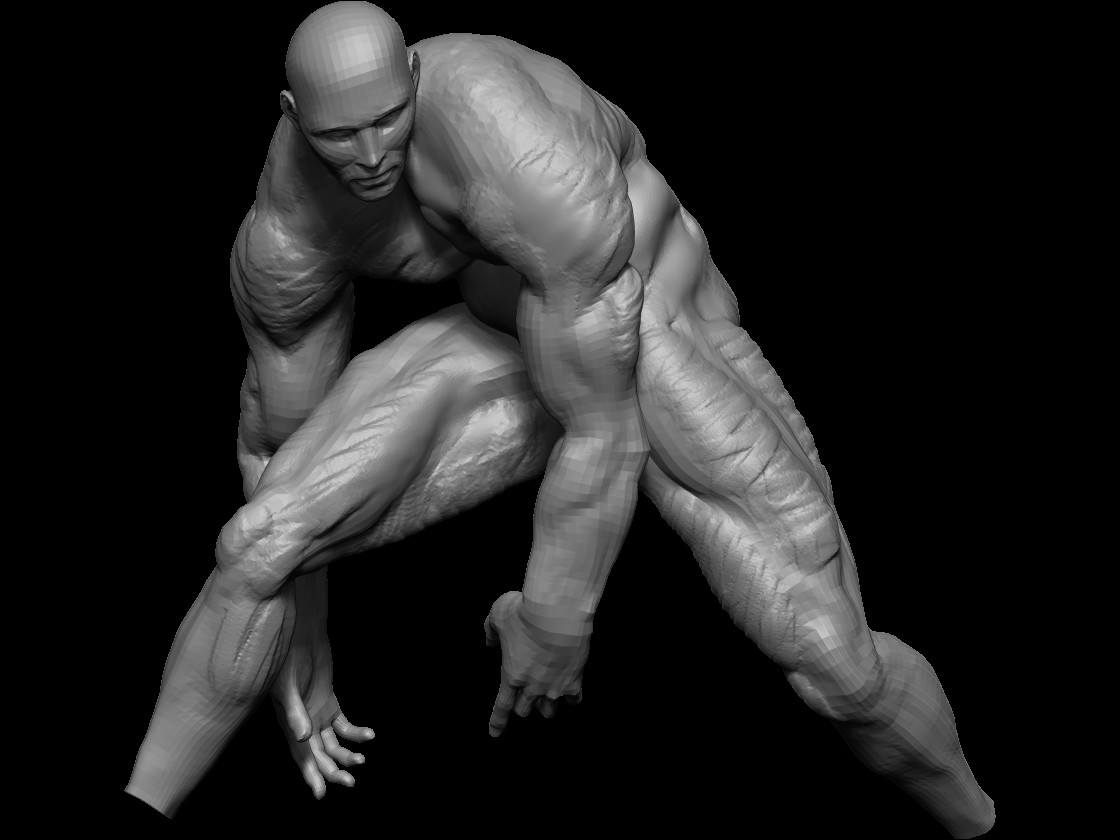 Import in zbrush and add volume and exaggeration