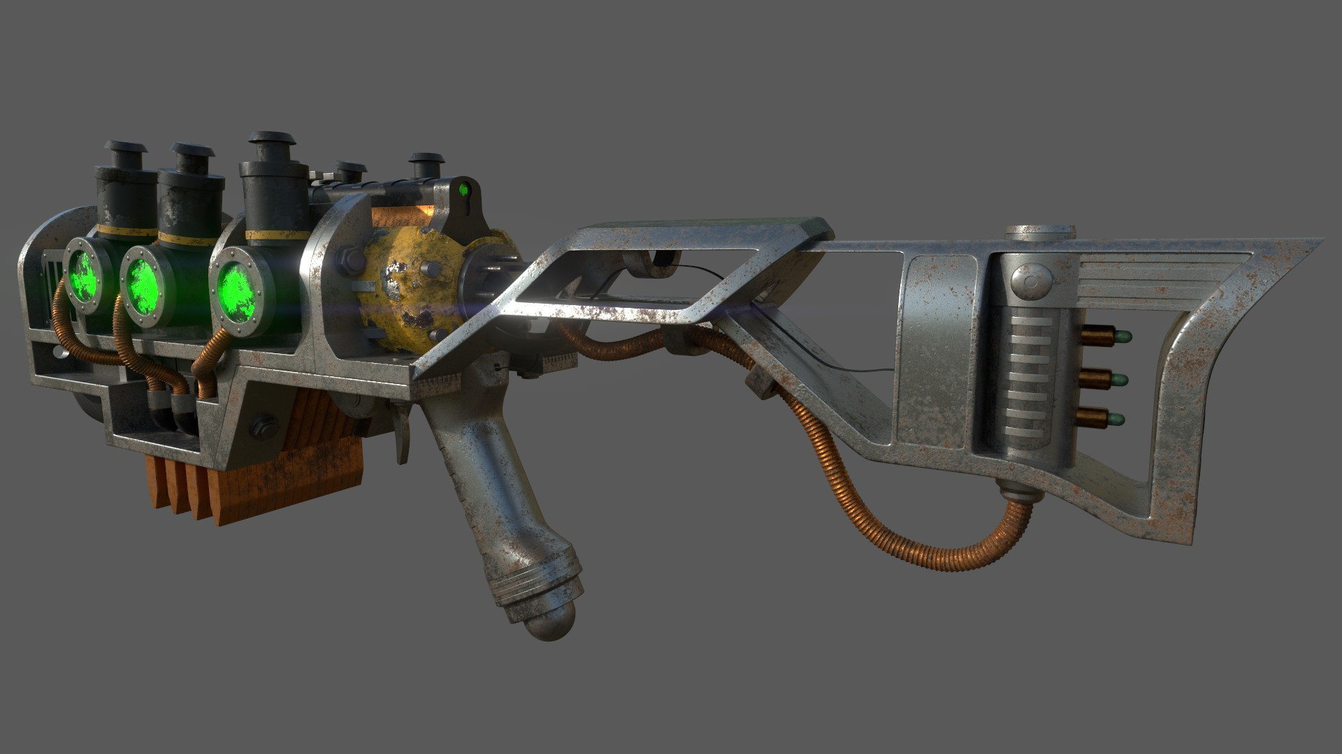 artstation plasma rifle fallout 4 jared mccleve