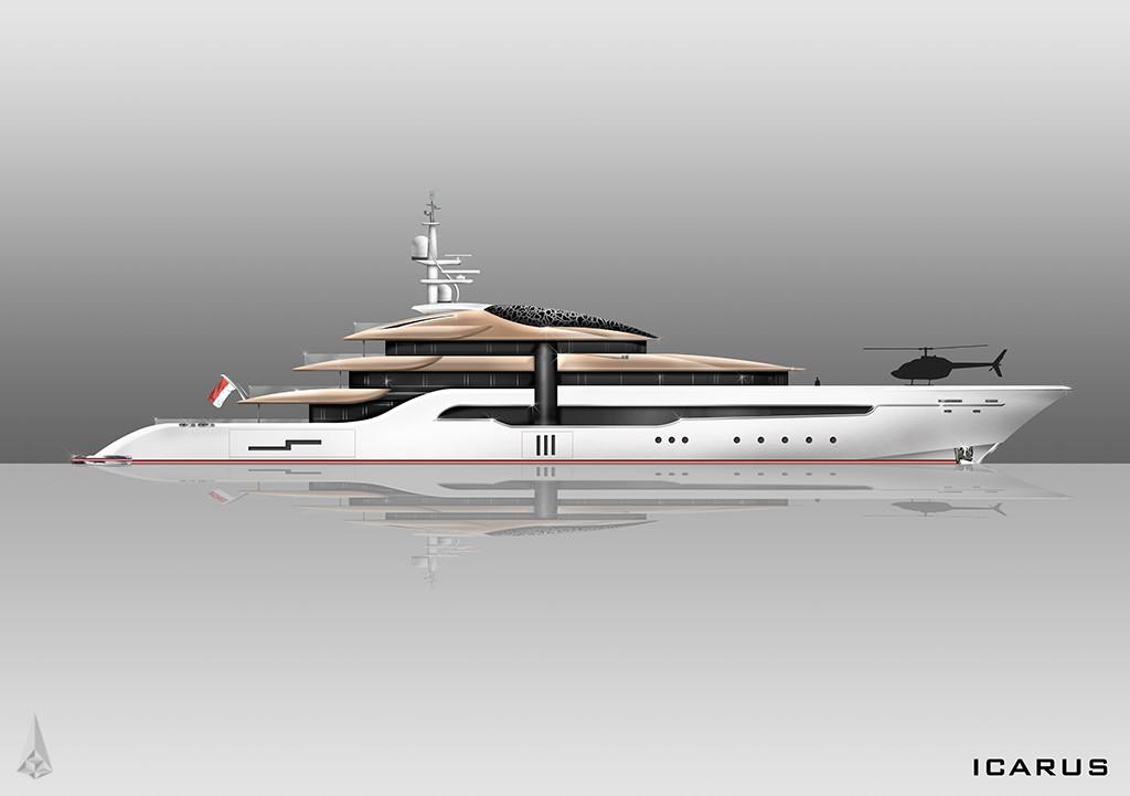 3d factory 3d factory icarus mega yacht