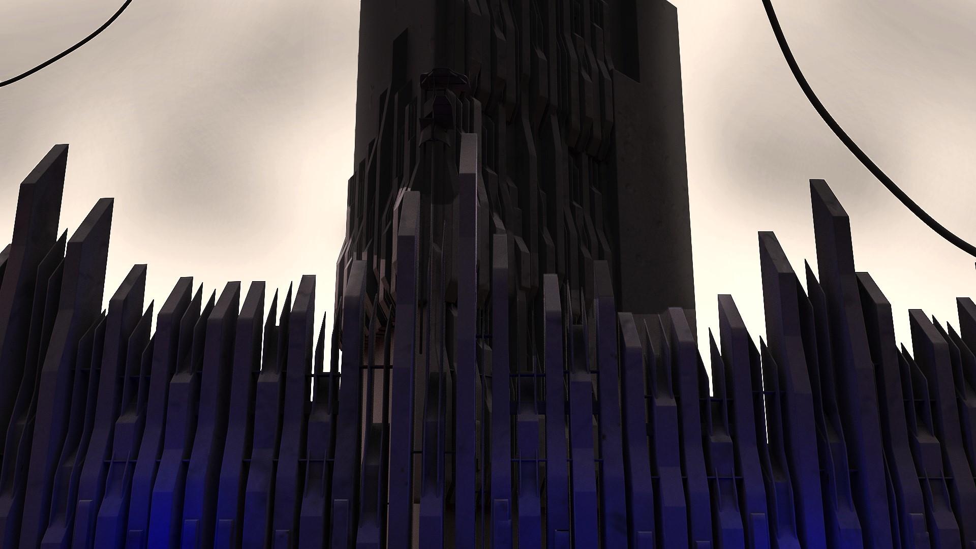 Artstation Half Life 2 Citadel Nikola Soskic
