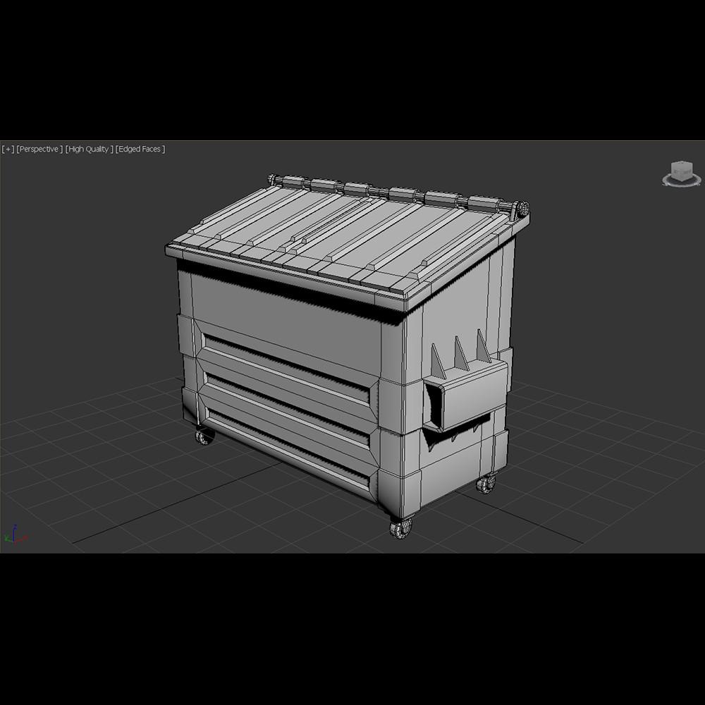 Practice in box modeling in 3Ds Max