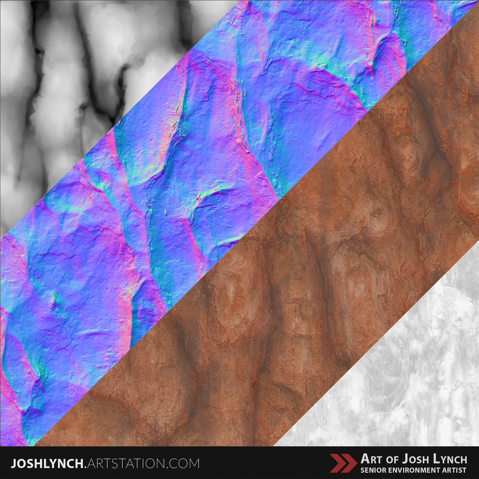 Joshua lynch rock wall 05 layout comp sqyare textures