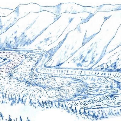 George almond glacier