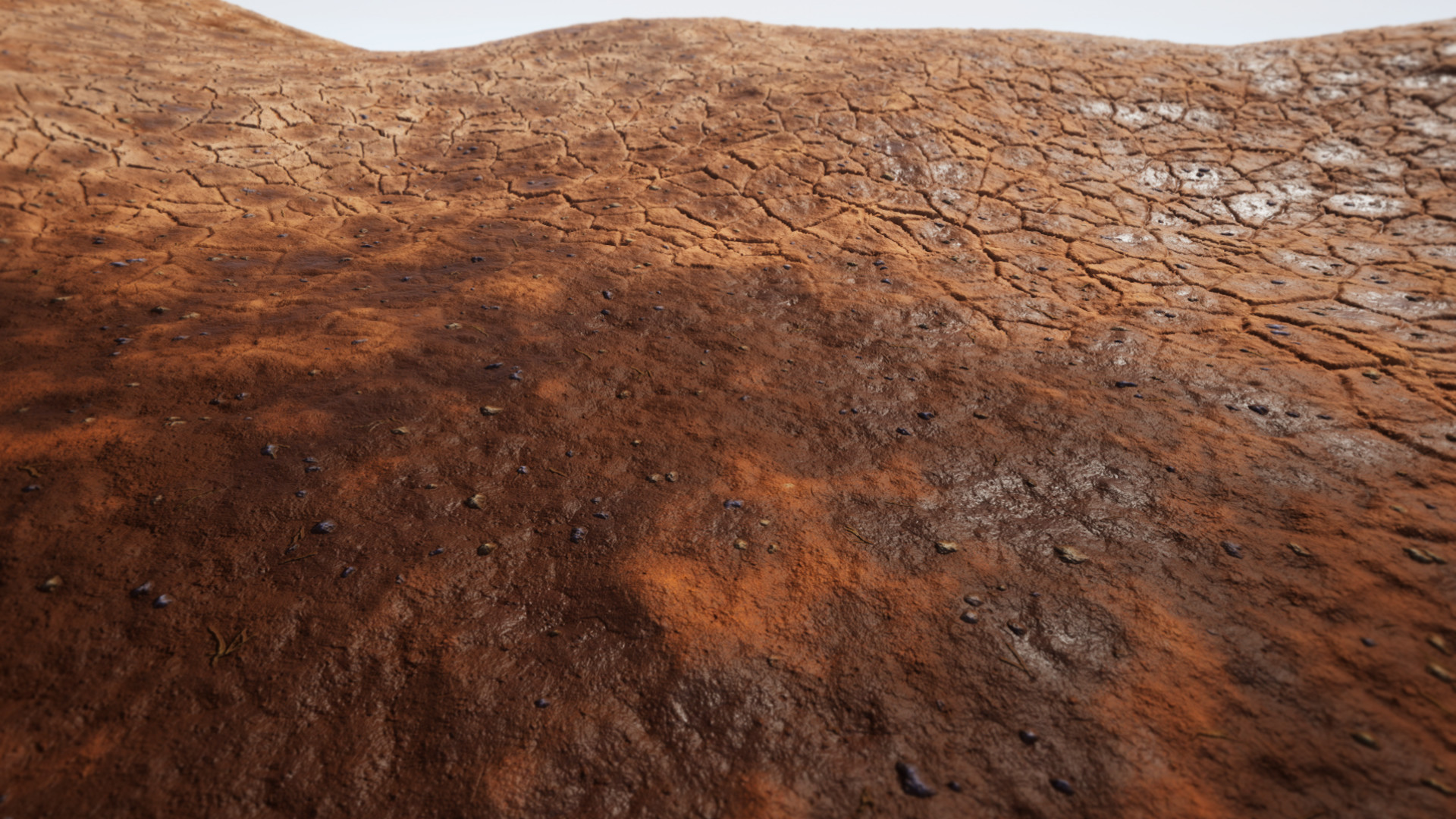 A slightly older shot of the substance used to build landscape materials in Unreal