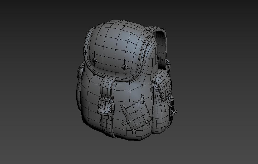 Practice in edge Modeling in 3Ds Max.