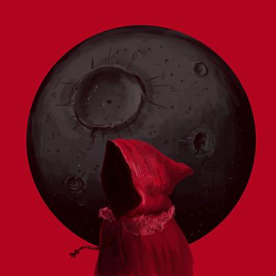 Ali alola black moon redcloak ali3alola