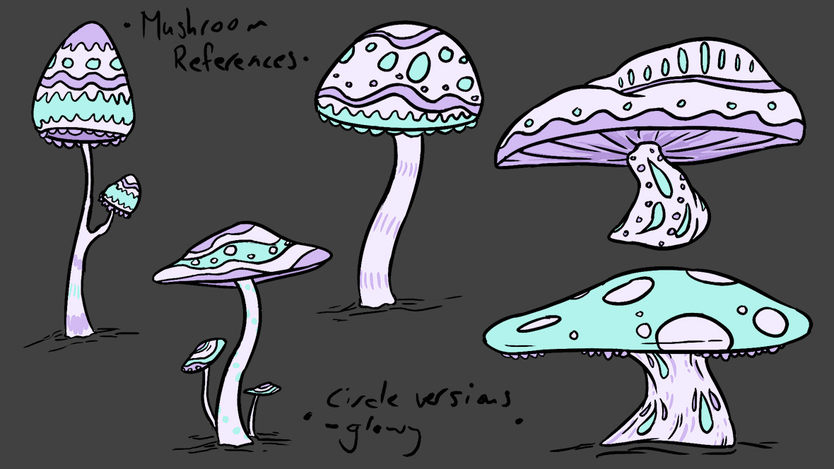 Mushroom Magic Colour Reference