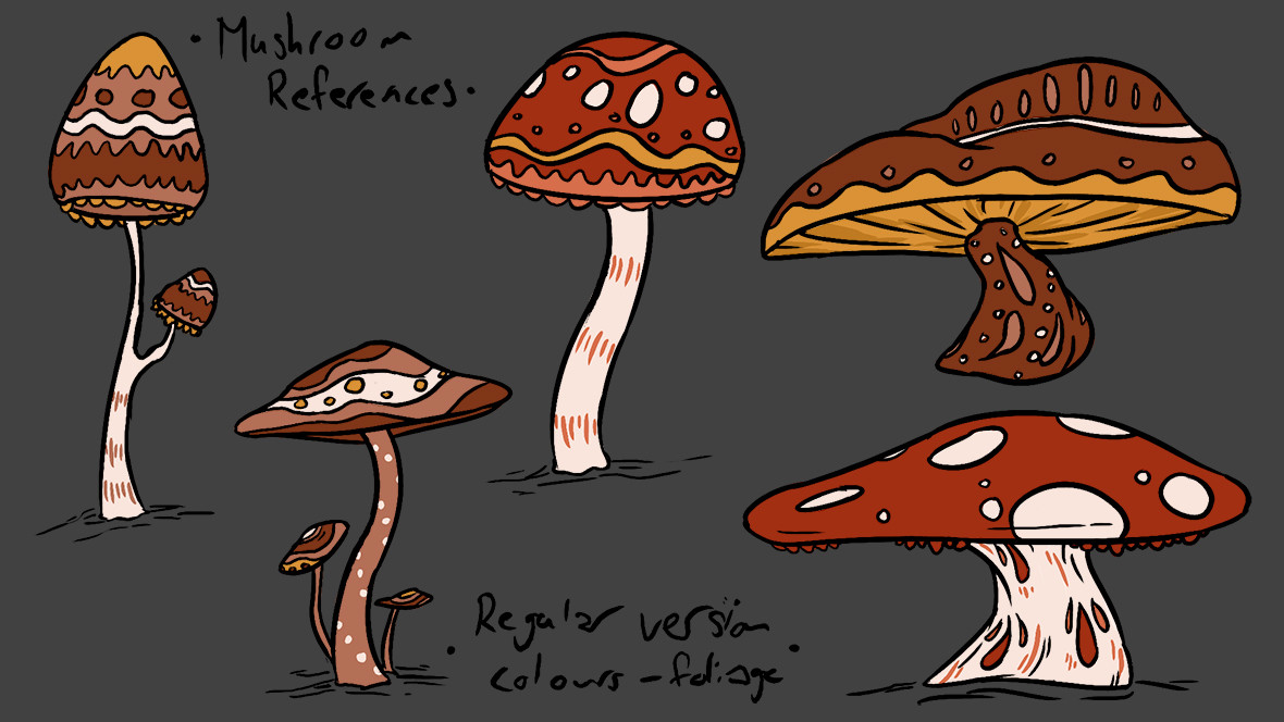 Mushroom Regular Colour Reference