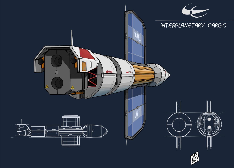 Edouard duhem interplanetary cargo