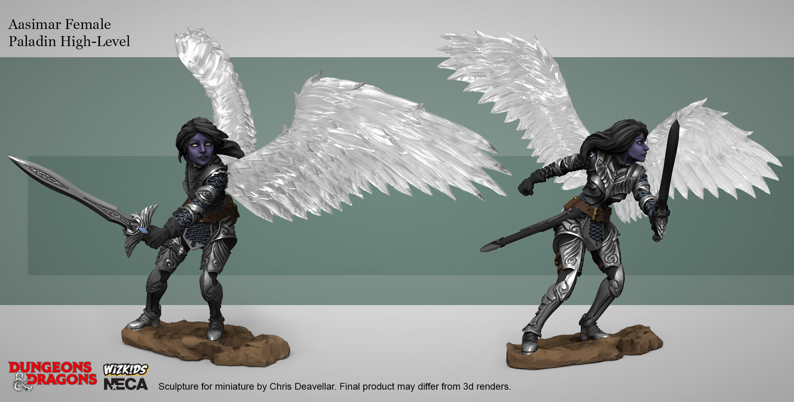 Dungeons & Dragons Nolzur's Marvelous Miniatures. The actual miniatures are unpainted.