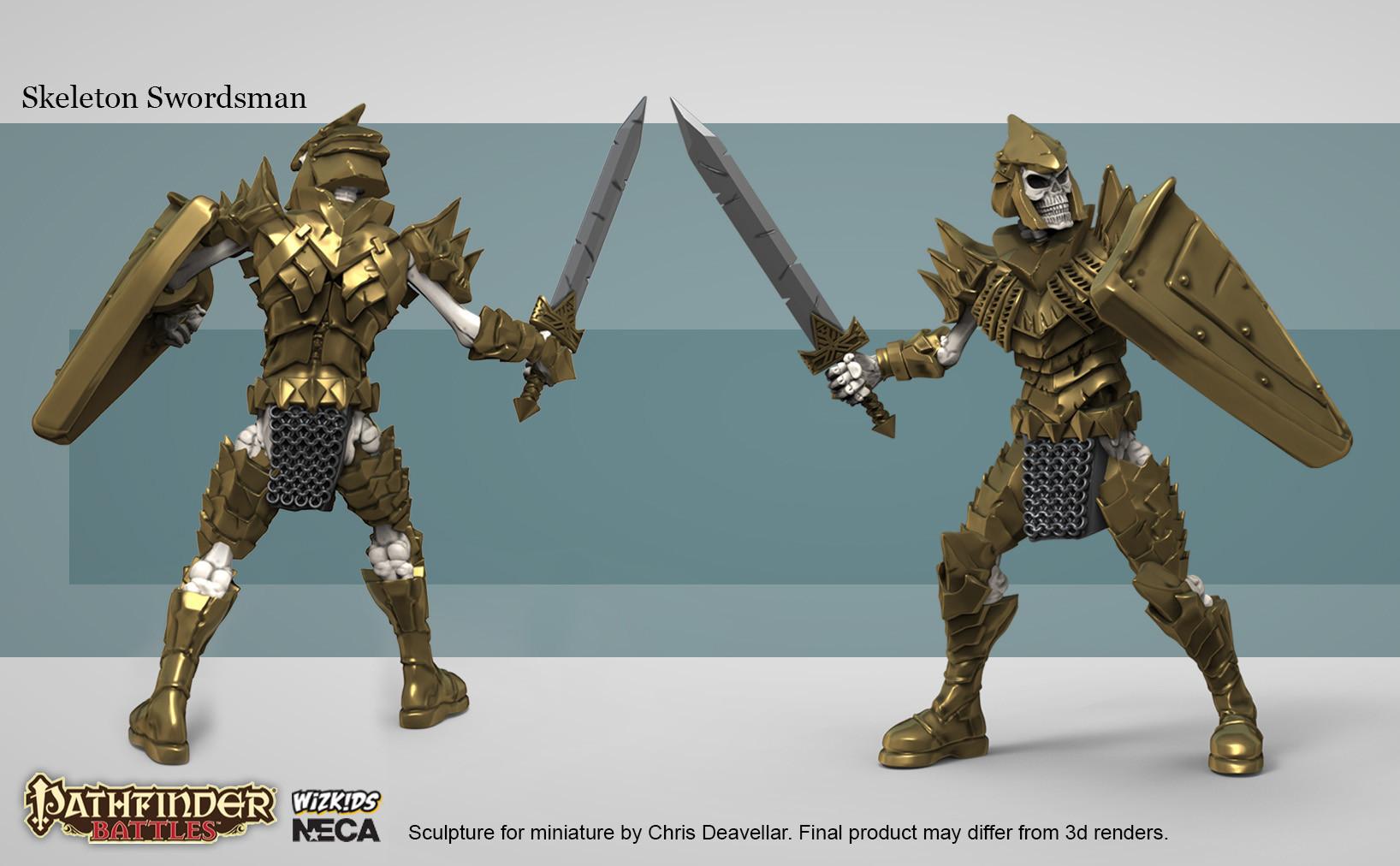Chris deavellar neca pf skel sword website