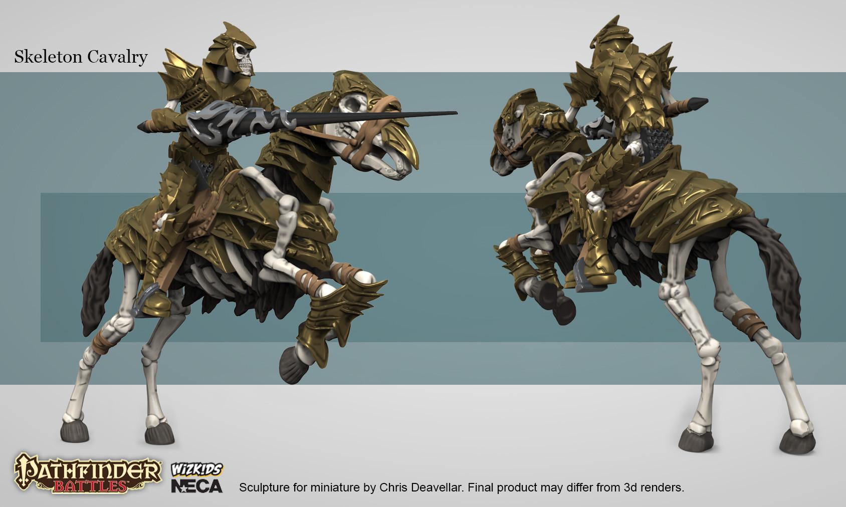 Chris deavellar neca pf skel cavalry website