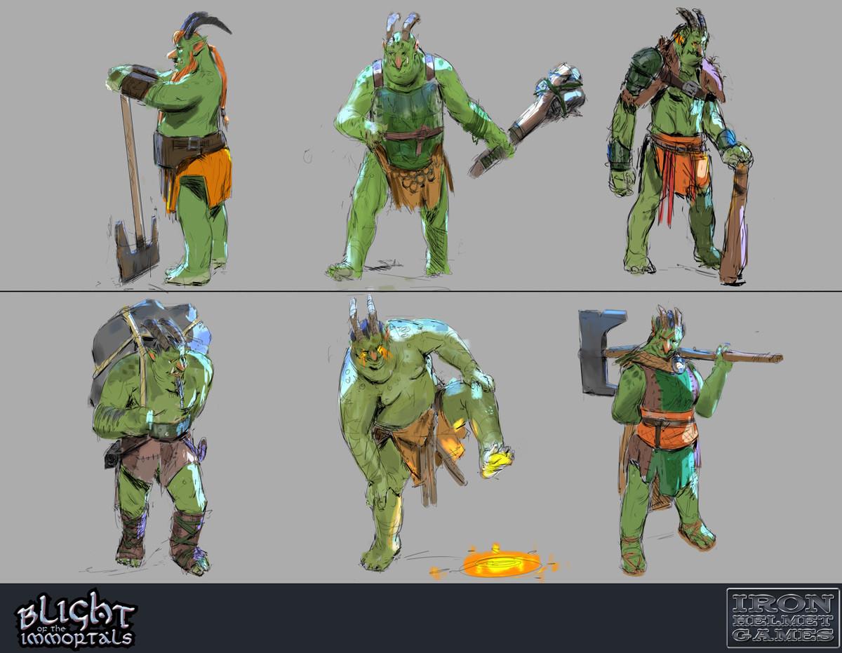 Troll - Character Explorations