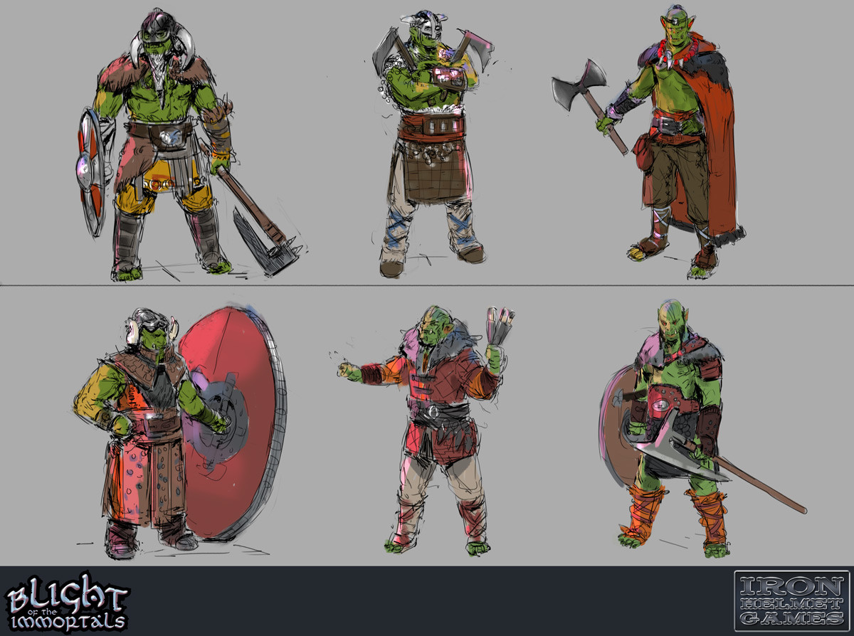 Orcs - Character Explorations