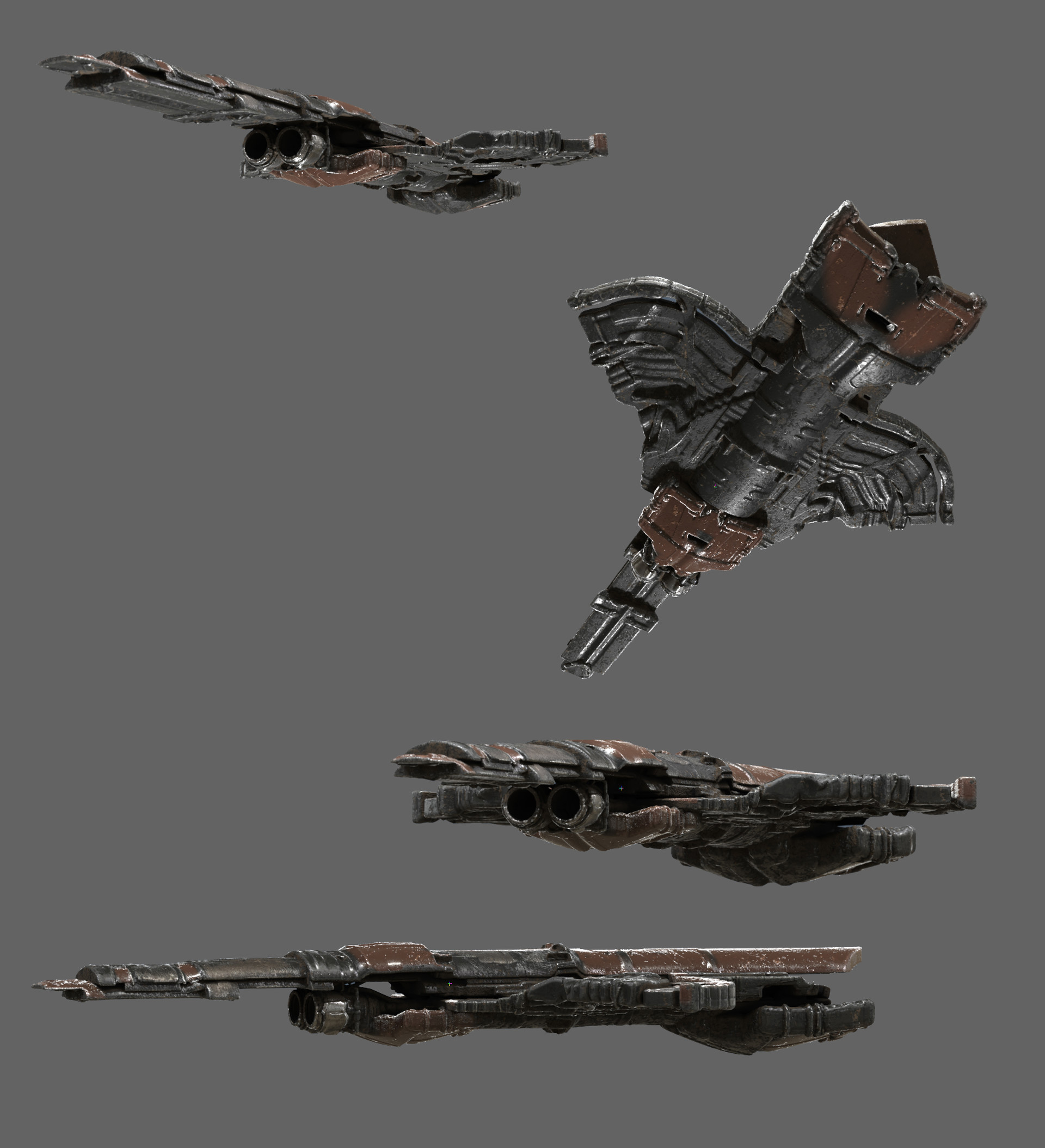 Devin korwin sapce ship texture