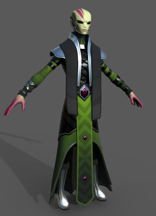 Kyle lindsey regal priest render