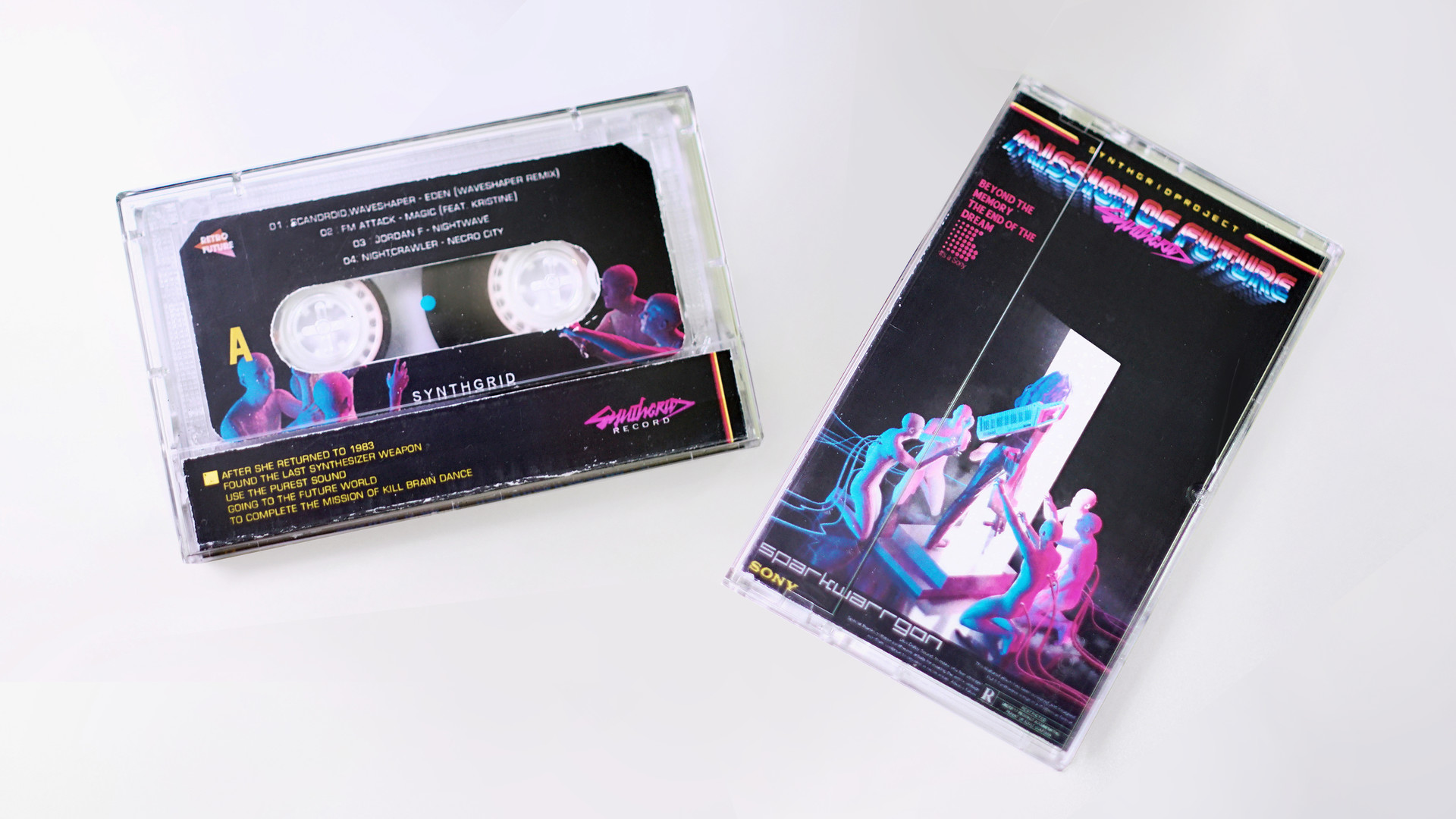 ArtStation - Mission of Future Cassette design , Spark Warrgon