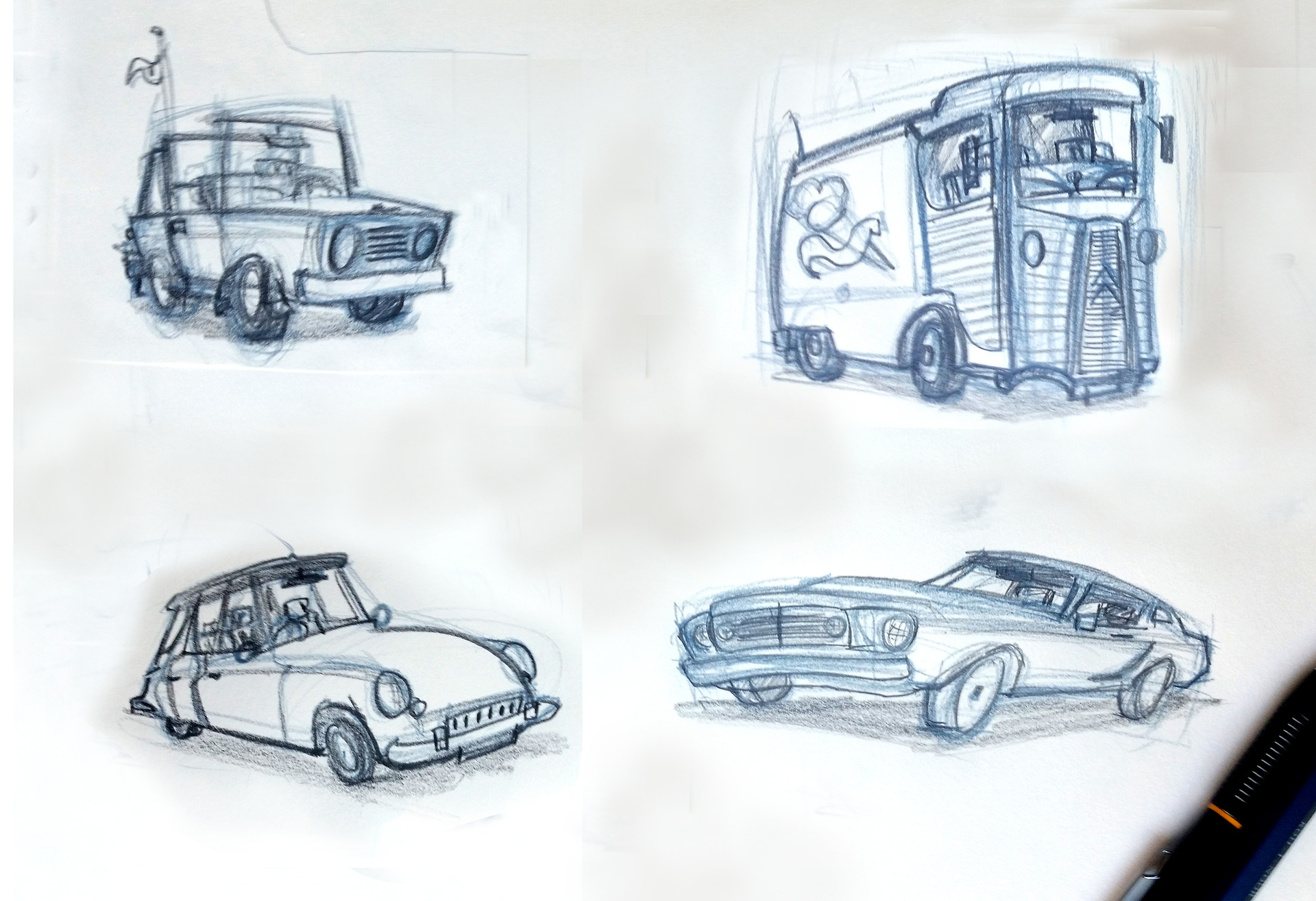 Mariano musante cars musa art props