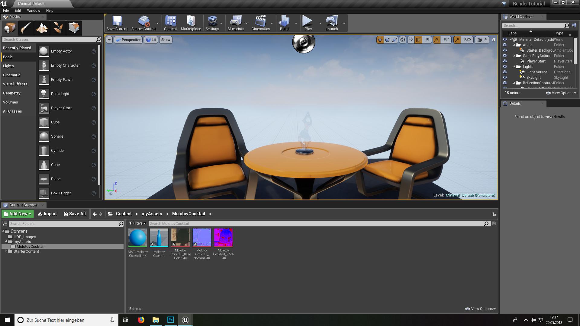 guide rendering  unreal engine