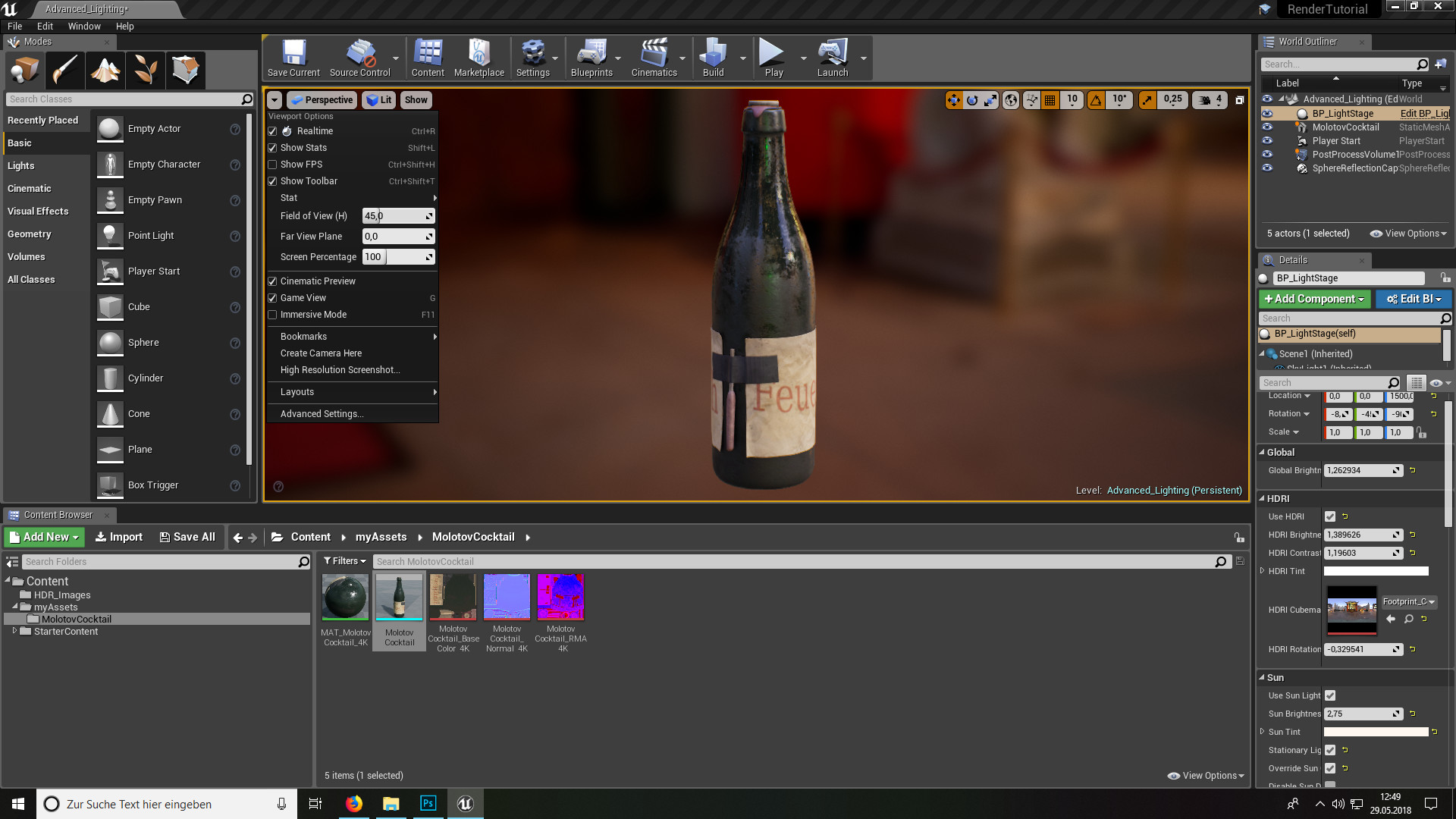 Guide: Rendering in Unreal Engine 4